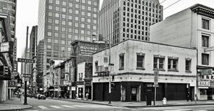 Im Stadtzentrum gelegenes San Francisco, Vereinigte Staaten lizenzfreie stockbilder