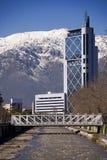 Im Stadtzentrum gelegenes Santiago IV Lizenzfreie Stockfotografie