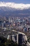 Im Stadtzentrum gelegenes Santiago VI Stockfotografie