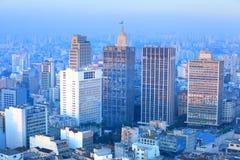 Im Stadtzentrum gelegenes Sao-Paulo Stockfotografie