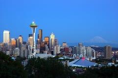 Im Stadtzentrum gelegenes Seattle Lizenzfreie Stockfotografie