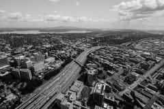 Im Stadtzentrum gelegenes Seattle Lizenzfreies Stockbild