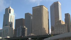 Im Stadtzentrum gelegenes Seattle, Vereinigte Staaten stock video footage