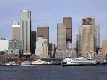 Im Stadtzentrum gelegenes Seattle, WA Lizenzfreie Stockfotos