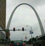 Im Stadtzentrum gelegenes St Louis lizenzfreies stockfoto