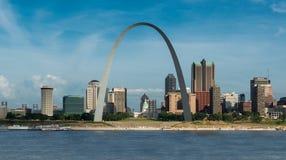 Im Stadtzentrum gelegenes St Louis Stockfotografie