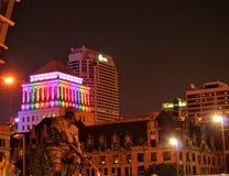 Im Stadtzentrum gelegenes St Louis Stockbilder