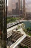 Im Stadtzentrum gelegenes Stadt Los Angeles, Kalifornien Stockfotografie