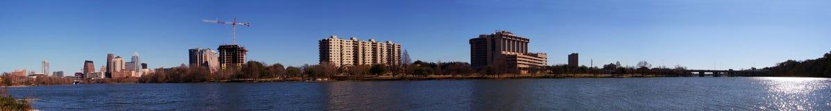 Im Stadtzentrum gelegenes Stadtbild Austin-Texas Lizenzfreies Stockfoto