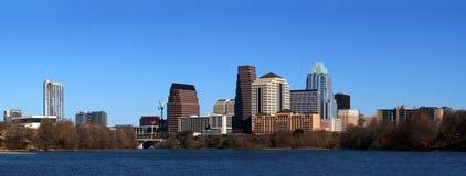 Im Stadtzentrum gelegenes Stadtbild Austin-Texas Lizenzfreie Stockfotos