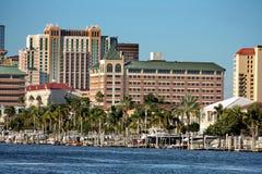 Im Stadtzentrum gelegenes Tampa Stockfoto