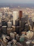 Im Stadtzentrum gelegenes Toronto Stockfotos