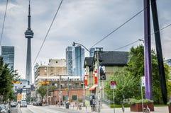 Im Stadtzentrum gelegenes Toronto Stockbilder
