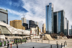 Im Stadtzentrum gelegenes Toronto Lizenzfreies Stockbild
