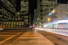Im Stadtzentrum gelegenes Toronto Stockbild