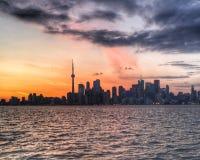 Im Stadtzentrum gelegenes Toronto Lizenzfreie Stockfotografie