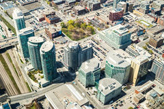 Im Stadtzentrum gelegenes Toronto, Kanada Stockbilder