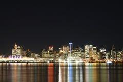 Im Stadtzentrum gelegenes Vancouver Lizenzfreie Stockbilder