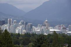 Im Stadtzentrum gelegenes Vancouver Stockbilder