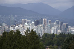 Im Stadtzentrum gelegenes Vancouver Stockfotos