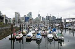 Im Stadtzentrum gelegenes Vancouver Stockfoto