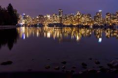 Im Stadtzentrum gelegenes Vancouver, Britisch-Columbia, Kanada Stockbild