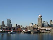 Im Stadtzentrum gelegenes Vancouver-Stadtbild Stockfoto