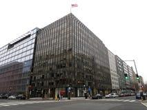 Im Stadtzentrum gelegenes Washington DC an einem bewölkten Tag Stockfoto