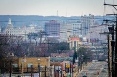 Im Stadtzentrum gelegenes Youngstown Stockfotografie