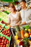 Im Supermarkt Lizenzfreies Stockbild