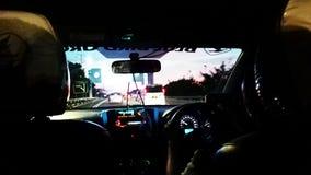 im Taxi Lizenzfreie Stockfotografie