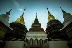 Im Tempel Stockbild