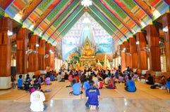 Im Tempel Thailand Lizenzfreies Stockbild