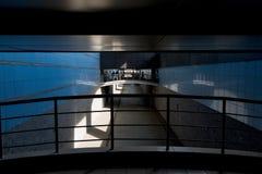 Im Tunneltunnel Stockbild