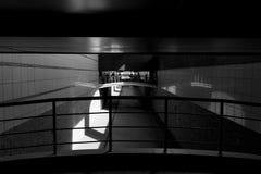 Im Tunneltunnel Stockfotos
