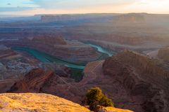 Im Voraus bezahlte Leistungs-Punkt-Nationalpark, Utah, USA lizenzfreies stockbild