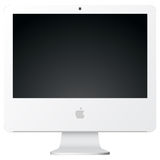 IMac vector illustratie