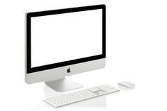 imac 21 яблока стоковые изображения