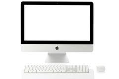 iMac 21 de Apple Imagenes de archivo