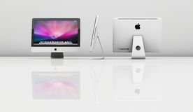 Imac royalty free stock photos