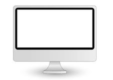 Imac computer display vector illustration