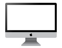 IMAC Computer Display. Template illustration on white background. (Additional Vector .EPS file is available vector illustration