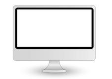 Imac Computerbildschirmanzeige Stockbild