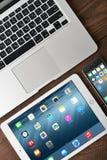 imac inc иллюстрации яблока Стоковое Изображение RF