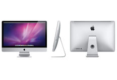 iMac novo 2012 de Apple Foto de Stock Royalty Free