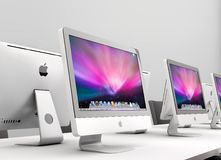 Imac work group Royalty Free Stock Images