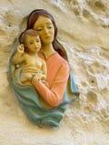 IMadonna y niño Foto de archivo libre de regalías