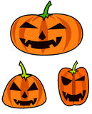 Imaes of Halloween design  icons Stock Photography