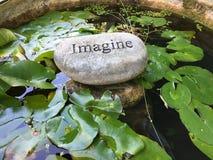 Imagínese su vida Fotos de archivo libres de regalías