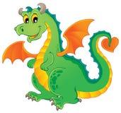 Image 1 de thème de dragon Photographie stock